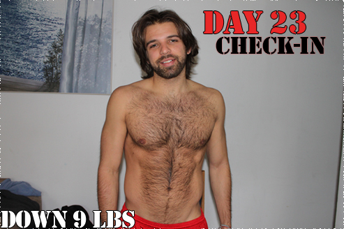 Day 23 Checkin - Down 9 lbs